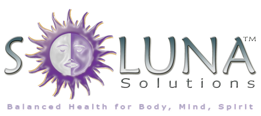 Soluna White Logo